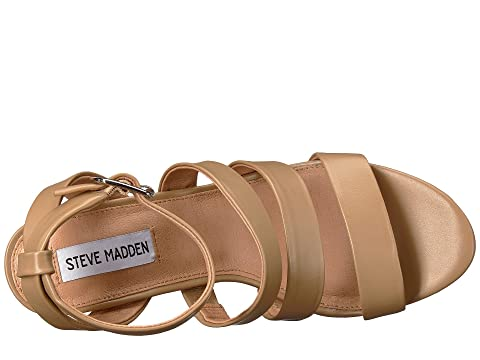 Steve Madden Vision Natural Leather Free Shipping Hot Sale Low Shipping For Sale High Quality Buy Online RQOHOepC
