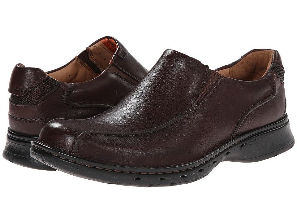 Clarks Un.seal (Brown Leather) Men