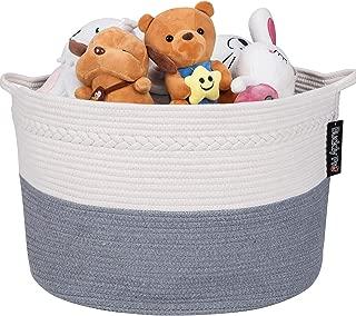 Extra Large Cotton Rope Basket/Blanket Basket/Toy Storage Baskets 22
