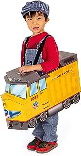 train cardboard costume