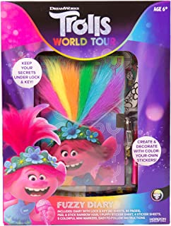 Dreamworks Trolls World Tour Paillettes Diary