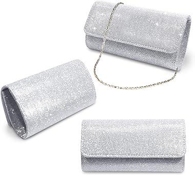 Anladia Elegant Damentasche Clutch Party Handtasche Abendtasche Brauttasche