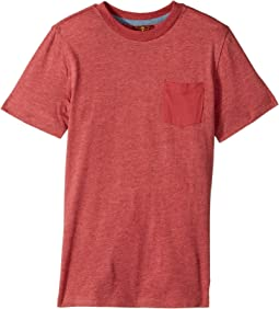 7 For All Mankind Kids - Short Sleeve T-Shirt (Big Kids)