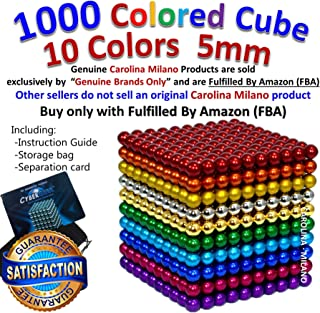1000 pcs 5mm 10 Colors balls Multicolored Large cube Building Blocks Sculpture Educational Game Fun Office Toy Intelligence Development Stress Relief Imagination gift 1000pcs 4x ( 216pcs +34pcs )