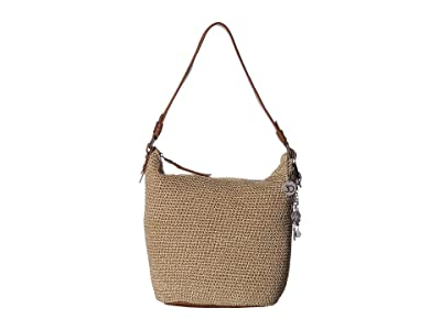 The Sak Sequoia Crochet Hobo (Bamboo Static) Hobo Handbags