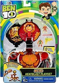 Ben 10 Heatblast Micro World Omnitrix Playset