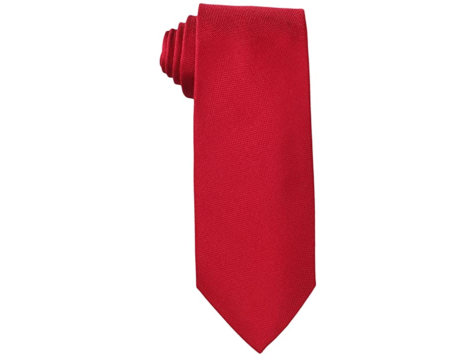 Tommy Hilfiger Oxford Solid (Red) Ties