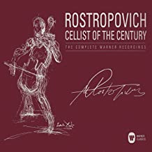 Mstislav Rostropovich - Cellist of the Century -  The Complete Warner Recordings