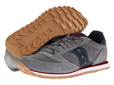 Saucony Originals Jazz Low Pro (Charcoal/Red SP 2013) Men