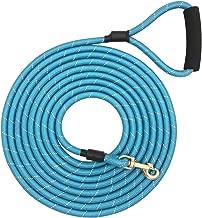 Shorven Nylon Strong Dog Rope Lead Reflective Training Dog Leash with Soft Handle 8-20 FT Long
