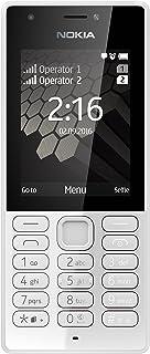 Nokia 216 mobiltelefon (VGA-kamera, batteritid upp till 25 dagar, Bluetooth, UKW-radio, MP3-spelare, ficklampa, väckarfunk...