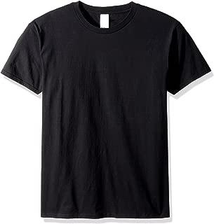 mens DryBlend 5.6 oz. 50/50 T-Shirt(G800)-BLACK-M
