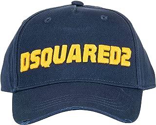 DSQUARED2 Luxury Fashion Mens BCM022205C00001M1386 Blue Hat | Fall Winter 19