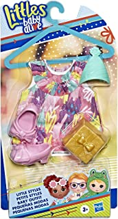 Baby Alive Littles, Little Styles Birthday Party Outfit for Littles Dolls, Brown/A