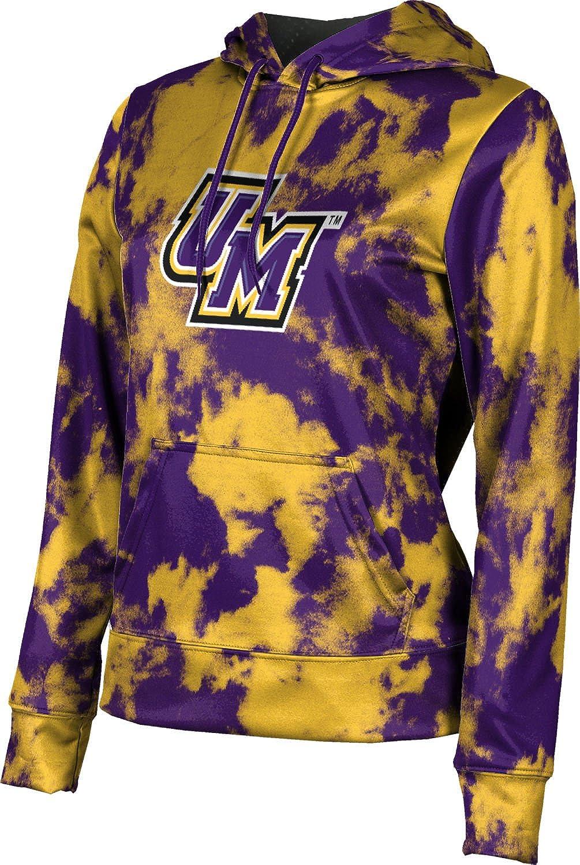 ProSphere University of Montevallo Girls' Pullover Hoodie, School Spirit Sweatshirt (Grunge)