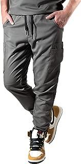 Krafted Cut Chance 10-Pocket Tapered Slim Fit Premium Cargo Men's Scrub Pants
