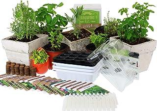 Culinary Indoor Herb Garden Starter Kit | Premium Herb Seeds | 18 Non-GMO Varieties | Grow Cooking Herbs & Spices | Seeds:...
