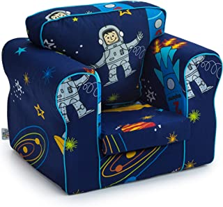 Ready Steady Bed  Space Boy Design Upholstered Children s Armchair with Removable Cover