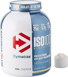 Dymatize Sport Supplementen Gourmet Vanilla ISO 100 (2200g) Gourmet Vanilla