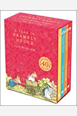 A Year in Brambly Hedge: Celebrating forty years of Brambly Hedge with this beautiful storybook gift set Hardcover