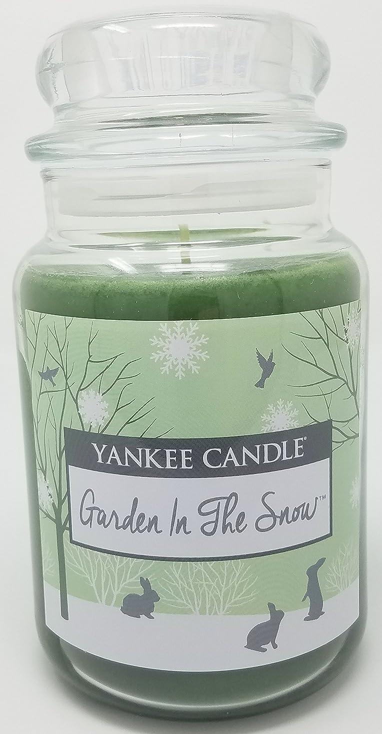 署名漁師内陸Yankee Candle Garden in the Snow Large Jar Candle