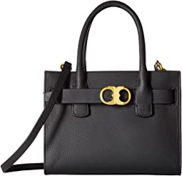 Gemini Link Leather Small Tote