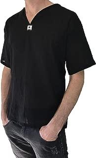 Love Quality Men's Short Sleeve Shirt 100% Cotton Hippie Yoga Shirt