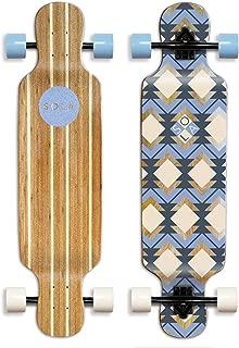 SOLA Bamboo Premium graphic design Complete longboard Skateboard - 36 to 38 inch