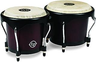 Latin Percussion LP601NY-DW LP City Wood Bongos - Dark Wood