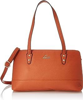 Lavie Sandra Medium Satchel 2C Women's Handbag (Orange)
