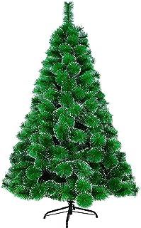 comprar comparacion LARS360 Árbol de Navidad Árbol Artificial Arboles Decoración Navideña, Material Agujas de Pino Verde con Efecto Nieve, Ver...