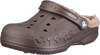 crocs Baya Lined, Unisex-Adults' Clogs, Brown (Espresso/Khaki), 7 AU Women/6 AU Men