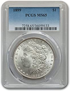 1899 Morgan Dollar MS-65 PCGS $1 MS-65 PCGS