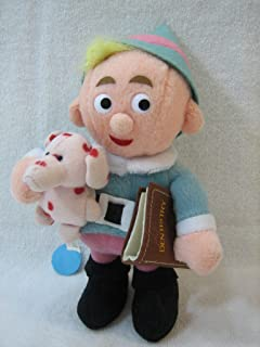 CVS Rudolph the Red Nosed Reindeer Hermey the Elf with Misfit Elephant and Dentist Book Stuffed Plush Bean
