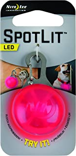 Nite Ize SpotLit Clip-On LED Light with Carabiner,  Weather Resistant