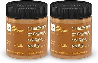 RX Nut Butter, Peanut Butter Jar, 10 Ounce (Pack of 2)