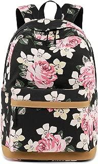 Cute Lightweight Canvas Bookbags School Backpacks for Teen Girls