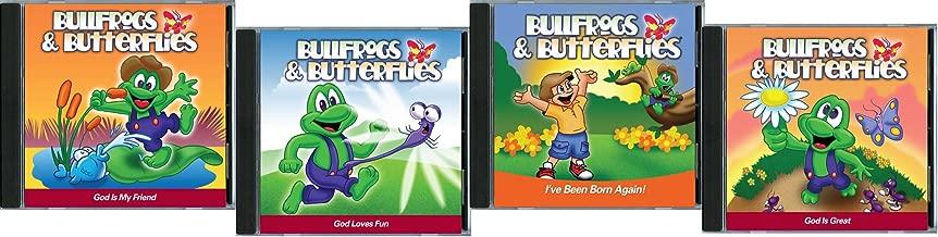 Bullfrogs & Butterflies Set