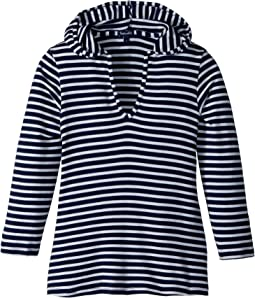 Stripe Hoodie Tunic (Big Kid)