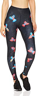 Dharma Bums Women's Amazona High Waist Printed Yoga Legging - Full Length