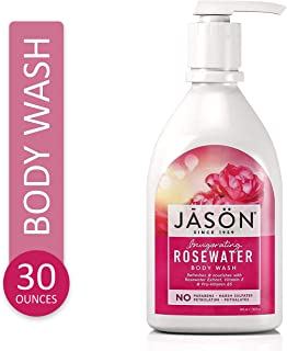 Sponsored Ad - Jason Natural Body Wash & Shower Gel, Invigorating Rosewater, 30 Oz
