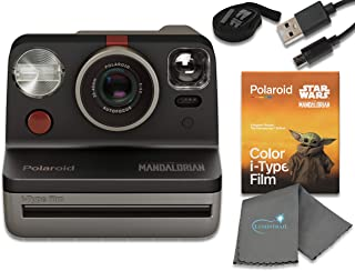 Polaroid Now I-Type Instant Film Camera - Star Wars The Mandalorian Edition Bundle with The Mandalorian Color i-Type Film ...