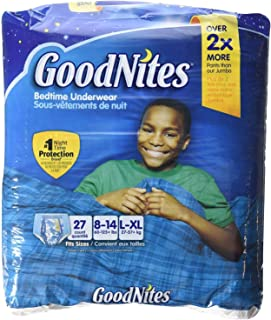 GoodNites Youth Pants for Boys, LXL, 27 Count