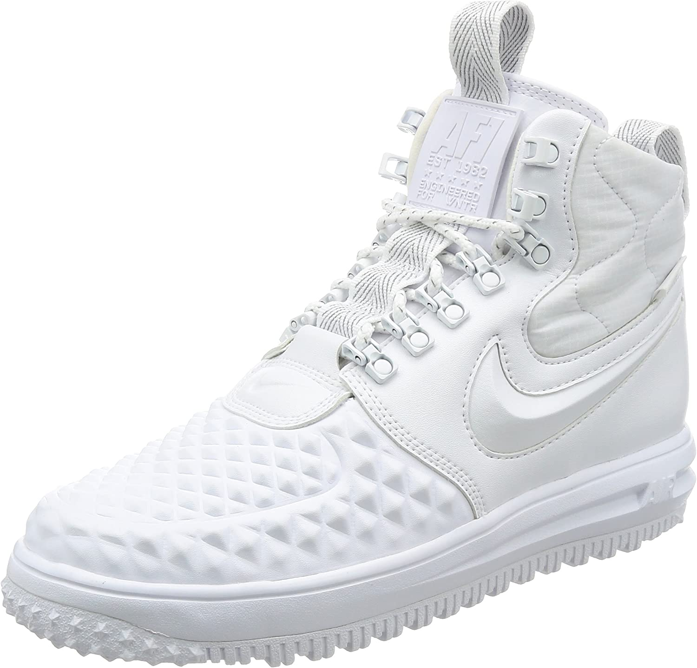 Nike Lunar Force 1 Duckboot 17 Men White White AA1123-100