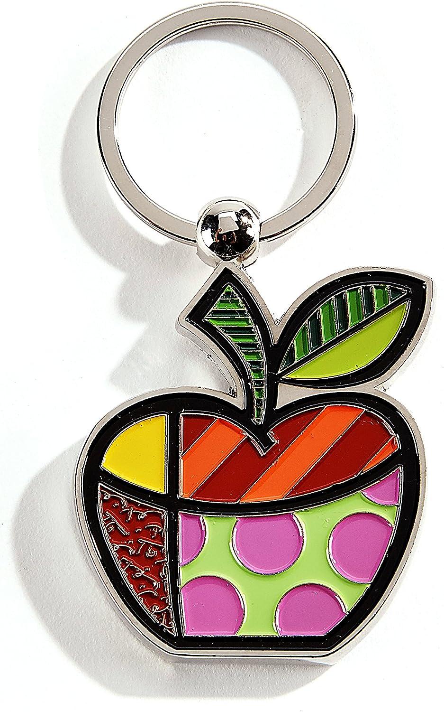 ROMERO BRITTO Schlüsselring Apfelform Emoji Smiley Apfel - Pop Pop Pop Art Kunst aus Miami  334395 B06XQ17BJX e7e9b0