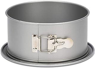 patisse 2048290 03523 Moule à gâteau ou à manqué Rond Bord Haut à charnière Silver-Top 22 cm, Argenté