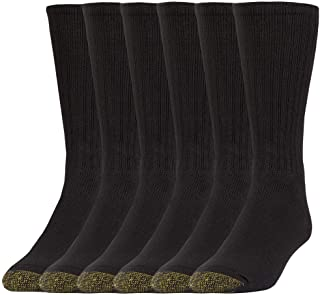 Men's Harrington Crew Socks, 6 Pairs