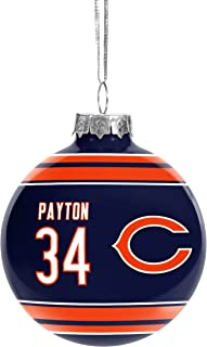 Forever Collectibles NFL Legends Christmas Holiday Glass Ball Player Ornament-2 5/8