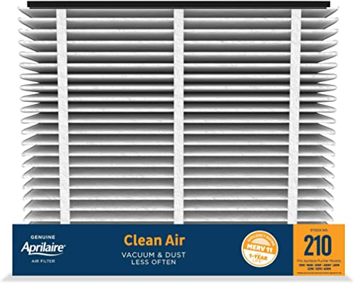 Aprilaire - 210 A2 210 Replacement Air Filter for Whole Home Air Purifiers, Clean Air Dust Filter, MERV 11 (Pack of 2)