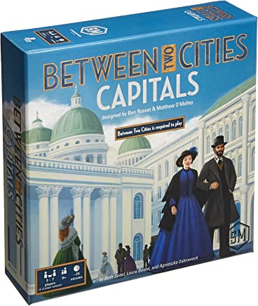 Stonemaier Games Current Edition Between Two Cities Capitals Board Game